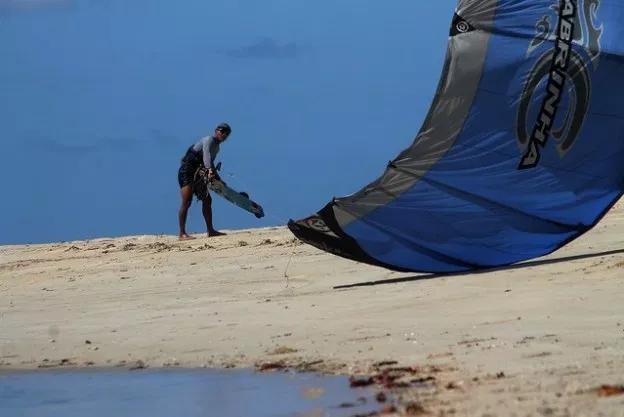 Kitesurf à Siquijor